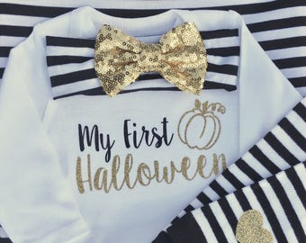 Baby girl Halloween, first halloween outfit, newborn girl Halloween outfit , baby girl first Halloween outfits, newborn girl Halloween