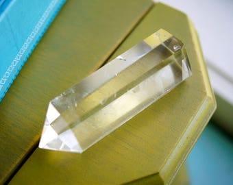 Polished Clear Quartz Crystal Wand Point (2.22oz)