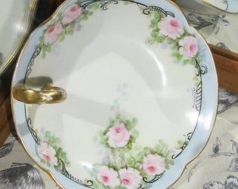 Vanity dish,French Limoges porcelain dish T&V