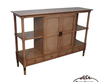 American Of Martinsville Mid Century Modern Console Etagere Cabinet