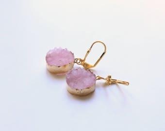 CALLIOPE pink earrings
