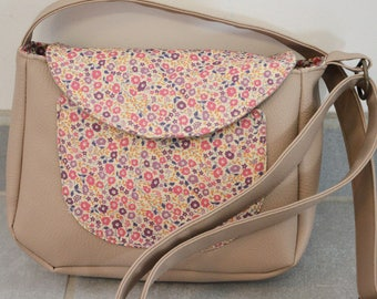 Beige Piti Messenger and Liberty Fairford