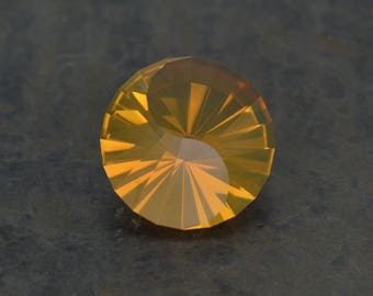 2.45 ct Mexican Fire Opal, Custom Cut USA Loose Gemstone