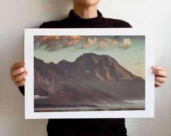 Grand Teton 1105 Art Print, Grand Teton National Park, Wyoming Landscape