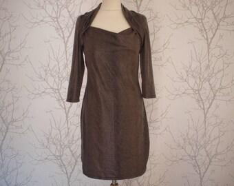 Women's dress in jersey, size s/m