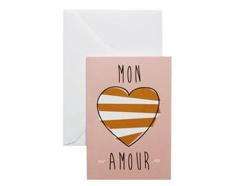Carte de vœux Mon Amour