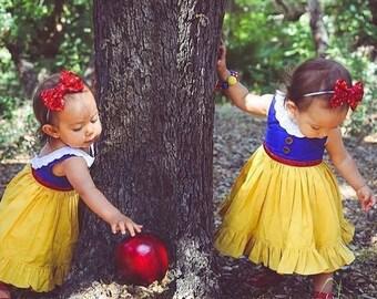 SNOW WHITE HARPER Dress, Snow white, Snow white dress, Birthday dress, disney dress, vintage dress, disney vacation dress, princess dress