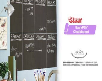 """Siser EasyPSV Removable Chalkboard Adhesive Sign Vinyl - 12""""x 1 ft, 1, 5, 10, 25, 50 Yd FREE Shipping"""