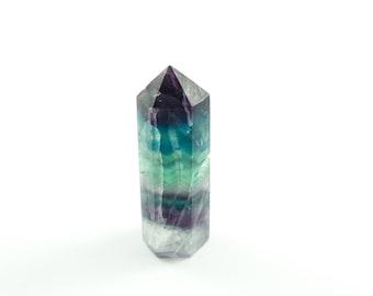 Rainbow Fluorite - Green Fluorite - Fluorite Point - Fluorite Wand - Fluorite Specimen - Fluorite Obelisk - Fluorite Crystal - Reiki Crystal