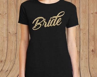 Bride ladies T-shirt - marriage wedding t shirts