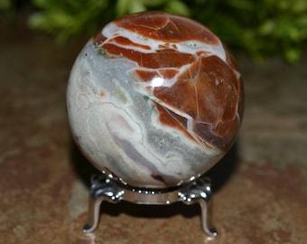 Multicolor Agate Sphere 54 MM, Agate Sphere