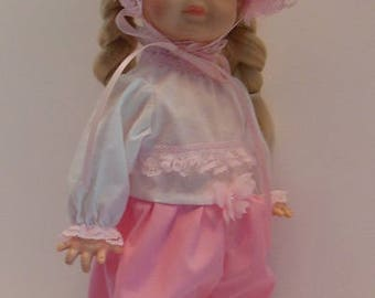 "Pink Jumper for 14"" Vogue Littlest Angel Dolls"