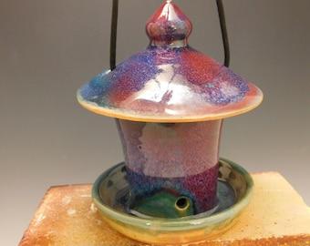 607 Bird Feeder, Wheel Thrown, Ceramic, Pottery