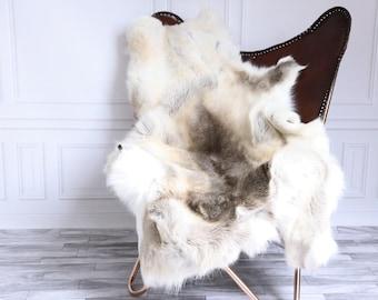 Reindeer Hide | Reindeer Rug | Reindeer Skin | Throw XX EXTRA Large - Scandinavian Style #15RE29