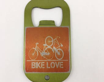 Bike , Cyclist, Bottle Opener