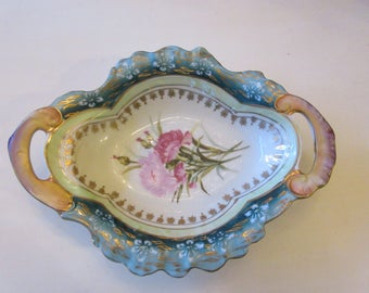 ANTIQUE DISH with HANDLES