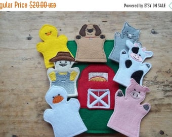 On sale Old MacDonald Finger Puppets Quiet Busy Book  page : Everyones favorite Nursery song. Great addition to your childs Busy Book.