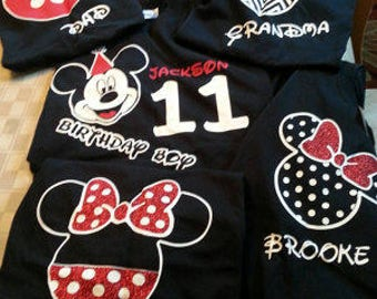 Disney family shirts etsy for Custom shirts fast delivery