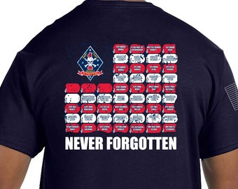 1st Recon Bn. Memorial Shirt