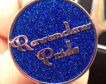 Blue Ravenclaw Pride Pin, Hogwarts Pin Harry Potter Pin