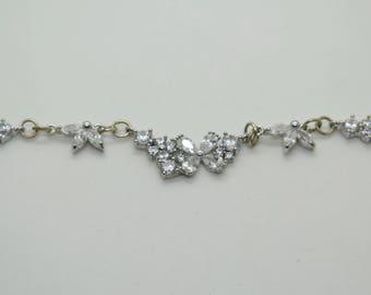 Flower Burst Silver Necklace
