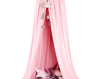 Canopy Pink, Tent canopy, Bed Canopy, Crib Canopy, kids canopy, Play room canopy