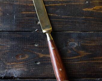 Vintage Brass Long Knife