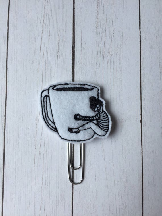 Coffee Girl Planner Clip/Planner Clip/Bookmark. Coffee Planner Clip. Coffee Girl. Love Coffee Planner Clip.
