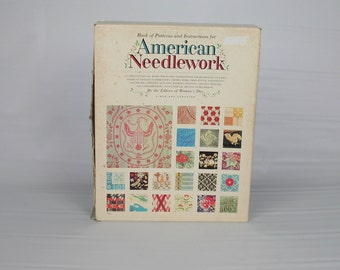 Vintage Book of patterns and instructions for American Needlework