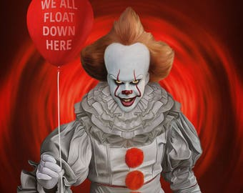 """It Pennywise 11""""x14"""" print"""