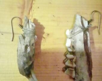 Deer Jaw Bone Earrings