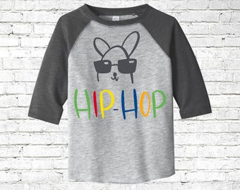 Easter shirt for boy, easter toddler shirt, rabbit shirt for him, toddler bunny shirt, easter egg shirt, raglan easter shirt, personalized