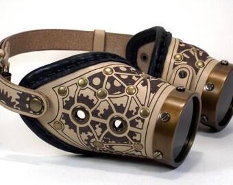 "Steampunk Goggles ""Classic-14b"""
