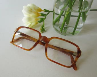 Vintage Coriolan Perscription Glasses Brown Frame 17117