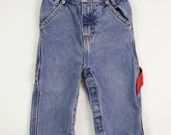 Vintage Polo Ralph Lauren Baby Denim Jeans, Size 12-18 Months