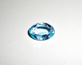 Fine Genuine Natural Sparkling Sky Blue Swiss Topaz Oval Shape 5 Carat Size