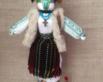 Motanka - handmade ukrainian traditional doll, cloth ethnic doll, rustic ukrainian doll