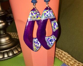 Prime Purple earrings