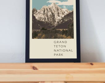 Grand Teton National Park Poster 11x17