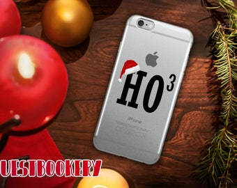 Ho Cubed iPhone Case - Ho Ho Ho iPhone Case - Ho iPhone Case - Funny Christmas iPhone Case - Christmas iPhone Case - iPhone Case