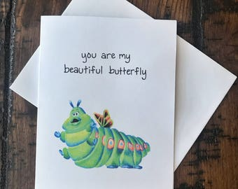 Beautiful Butterfly Heimlich Card