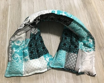 Microwaveable heating pad, FlaxSeed, Rice heating pad, Cold Pack, Microwave neck wrap, Hot Cold Pack, Corn Heating Pad, Mother's day gift