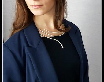 Minimalist Necklace-Minimal jewelry-gift-bride-girlfriend-friend-dinner-anniversary-wedding-Synergy Milano