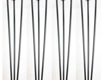 Hairpin legs,Set of 4 - 71 cm Hairpin table desk legs