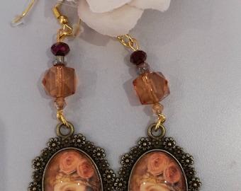 """Rétro chic"" earrings"