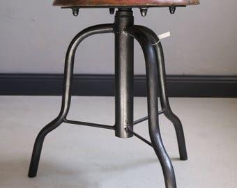 industrial vintage stool