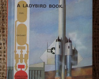 The Rocket. A Vintage Ladybird Book. How it Works. Series 654. 1973