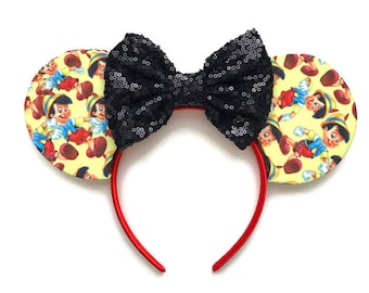 Pinocchio Fabric Mouse Ears