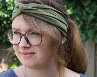 Double Headband, Turban Headband, Gypsy Headband, Yoga Turban Headband, Yoga Headband, Woman Head Band, Headband for Woman, Boho Headwrap