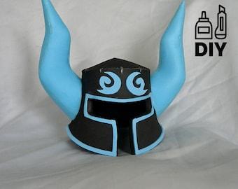 DIY The Legend Of Zelda Breath Of The Wild - Phantom helmet template for EVA foam